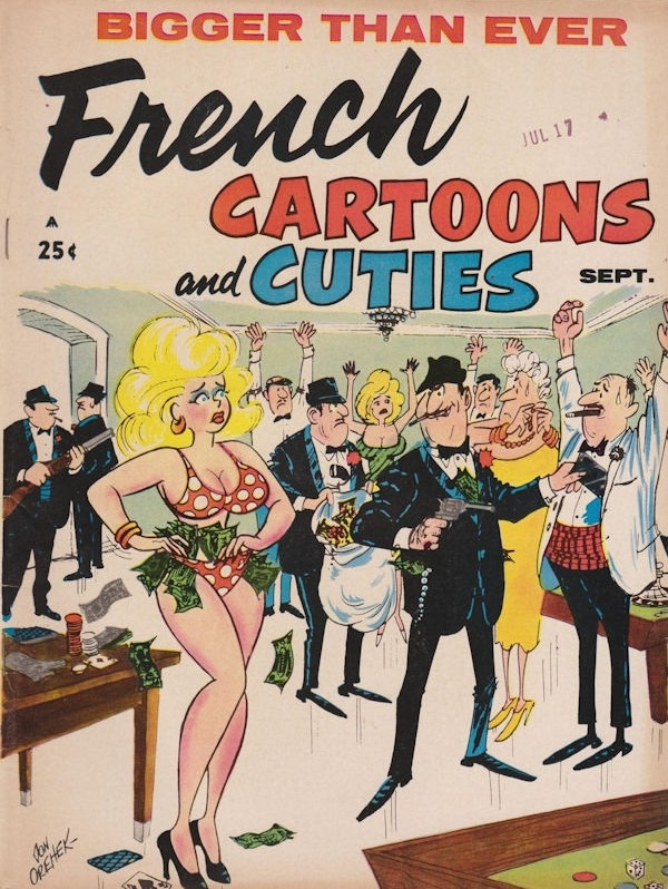French Cartoons and Cuties #33 • USA