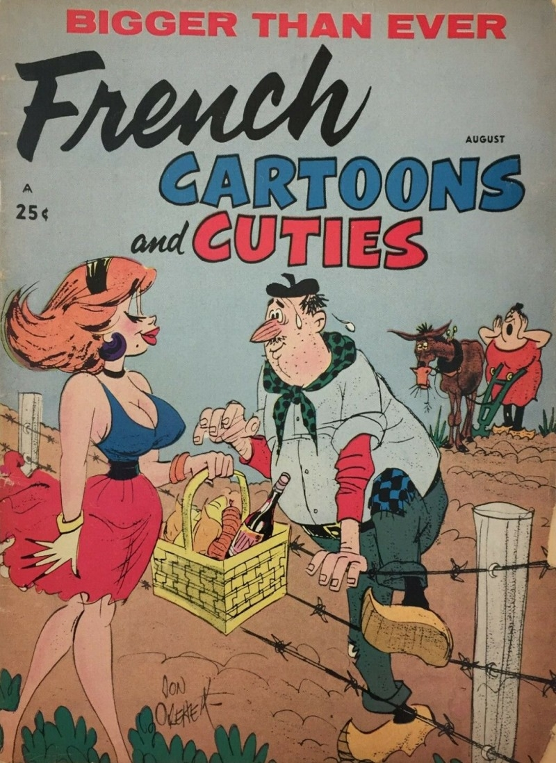French Cartoons and Cuties #37 • USA