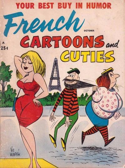 French Cartoons and Cuties • USA