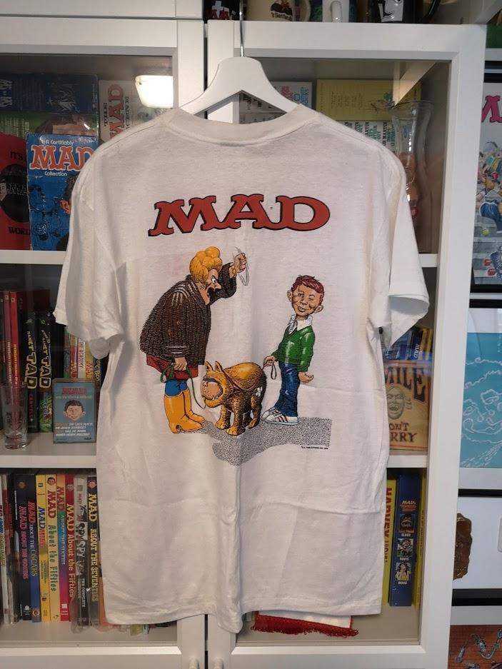 Shirt with Al Jaffee Cover Artwork • USA