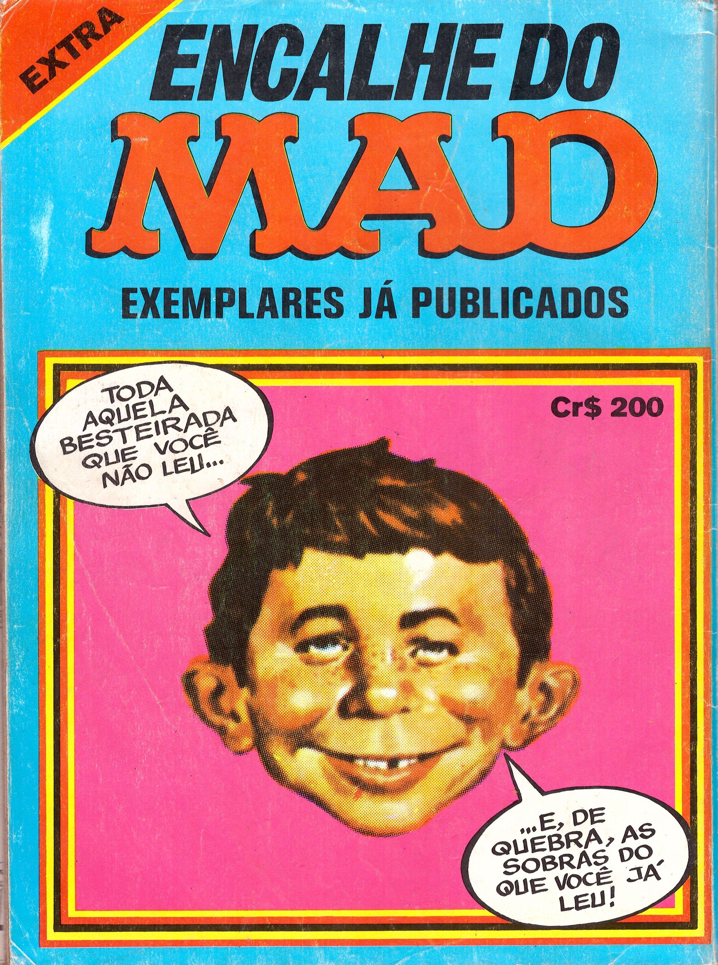 Encalhe do MAD (Vecchi) • Brasil • 1st Edition - Veechi