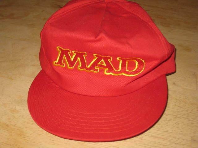 MAD Magazine Logo Baseball Cap  Prototype • USA