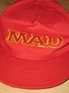 Image of MAD Magazine Logo Baseball Cap  Prototype