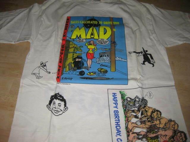 MAD Magazine T-Shirt American Marketing Works • USA