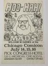 Image of MAD Magazine William M. Gaines Chicago Comicon Original Ad Poster