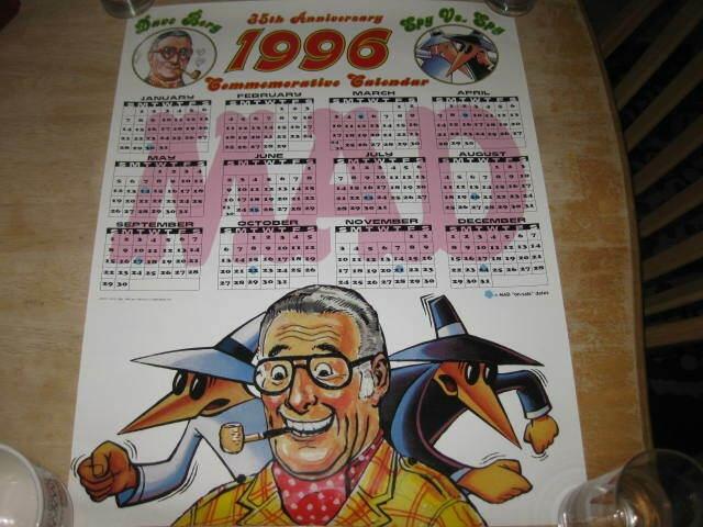 Dave Berg / Spy vs. Spy Poster Subscription Premium • USA