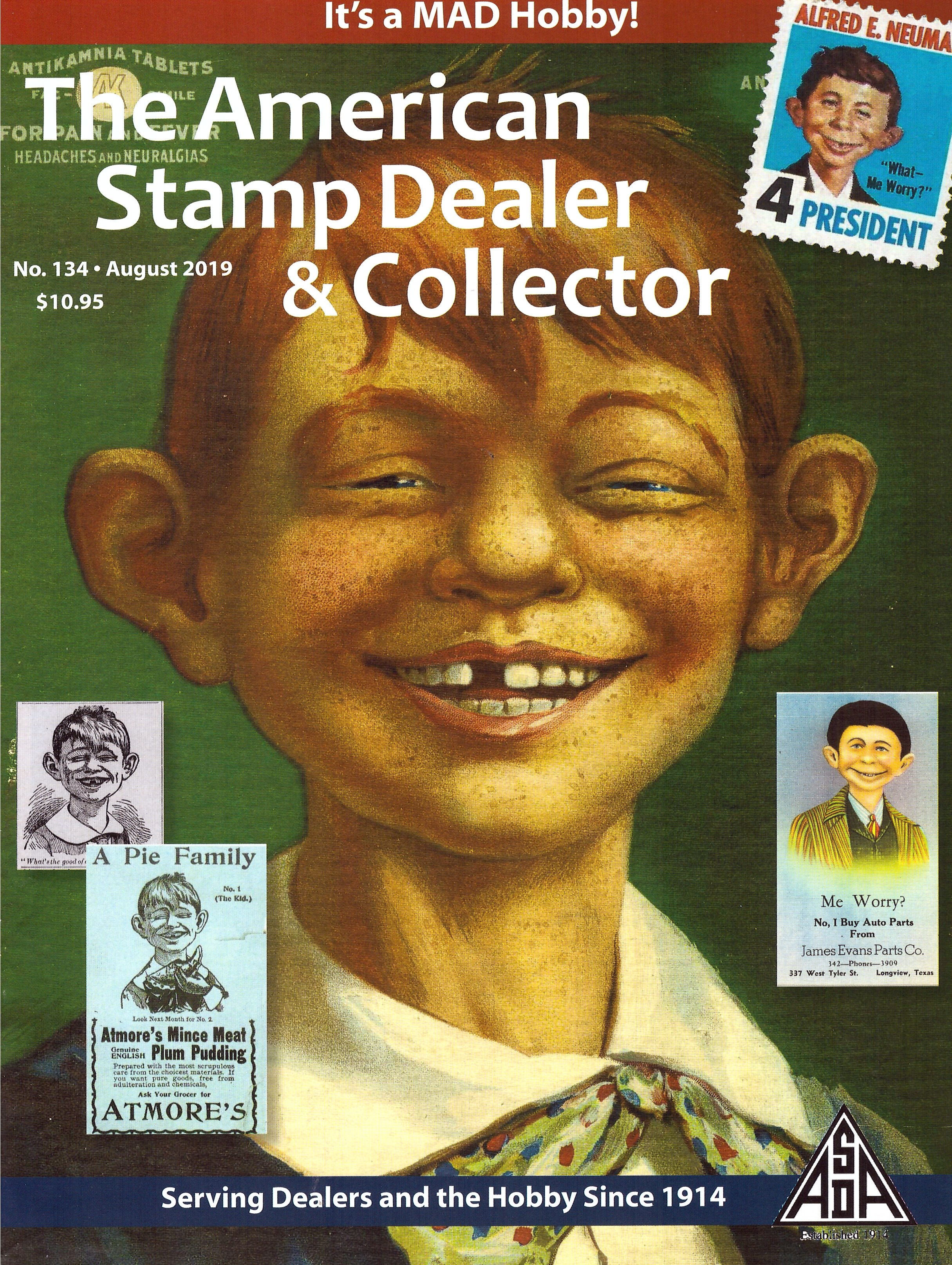 The American Stamp Dealer & Collector #134 • USA