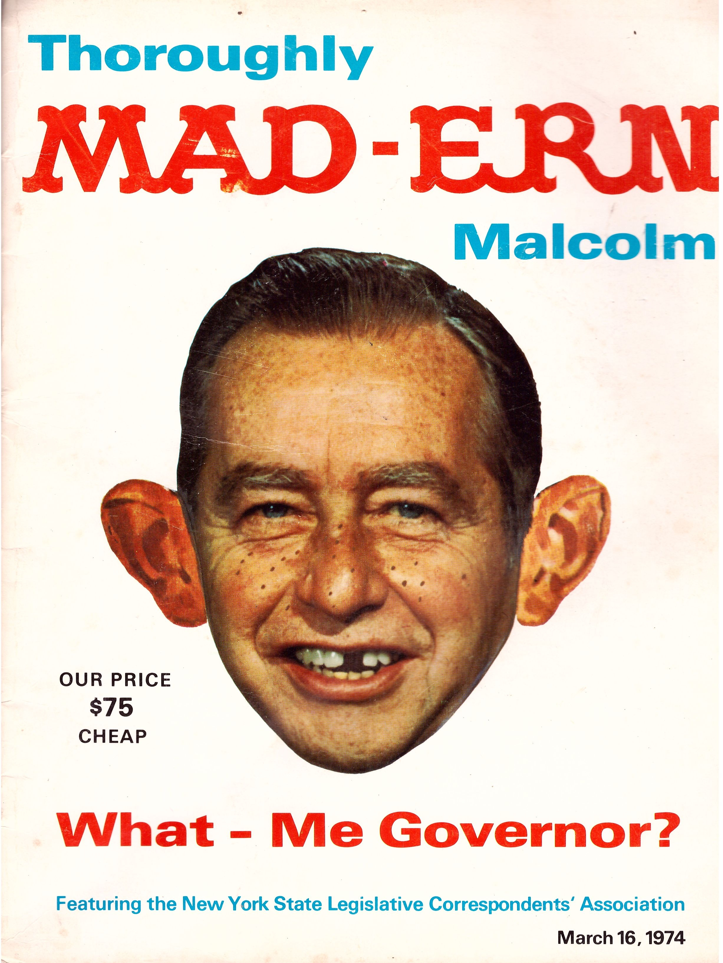 Thoroughly MAD-Ern Malcolm • USA