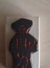 Image of Carmen's Veranda Cowboy Child Rubber Stamp