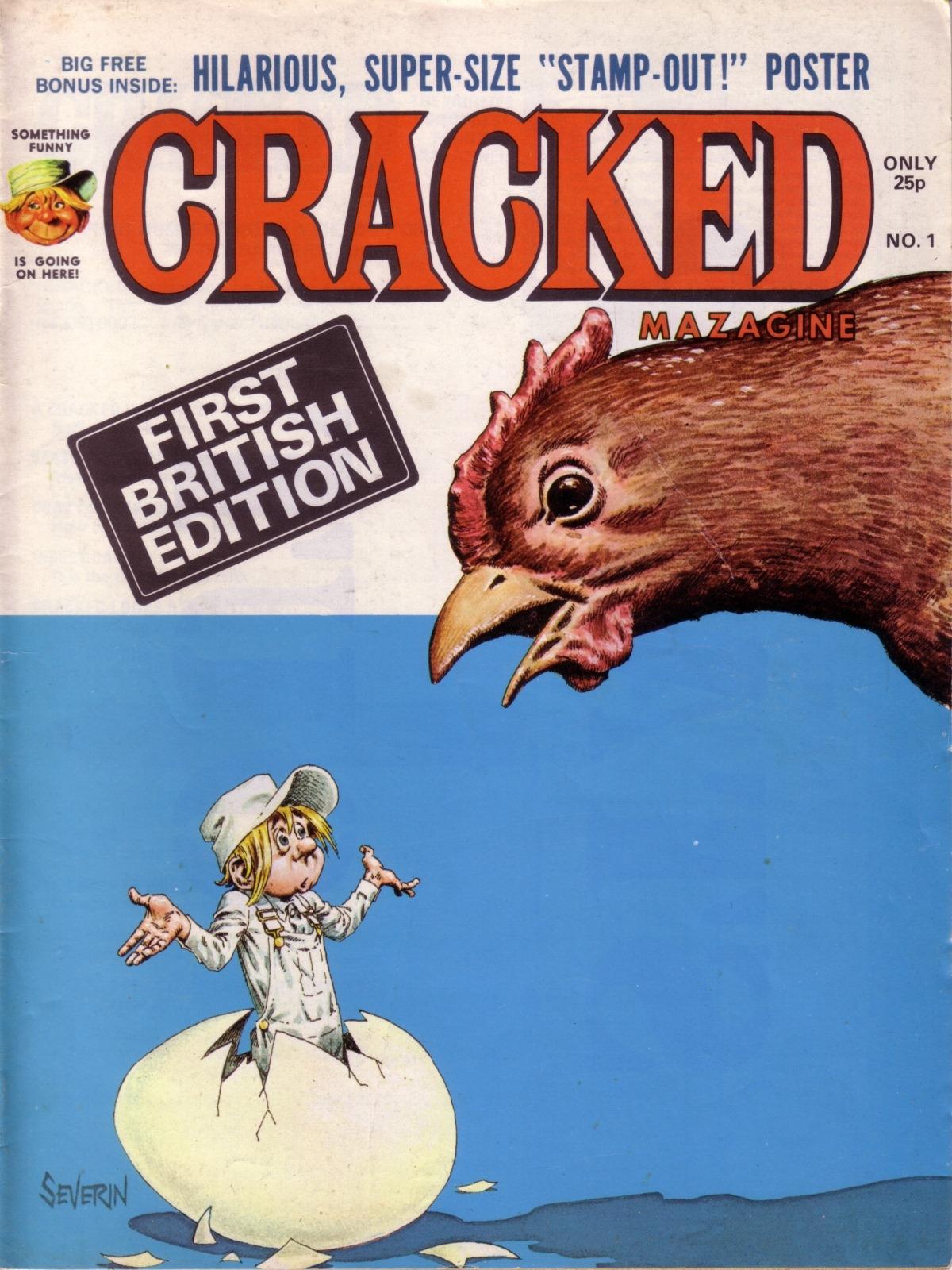 Cracked Magazine #1 • Great Britain