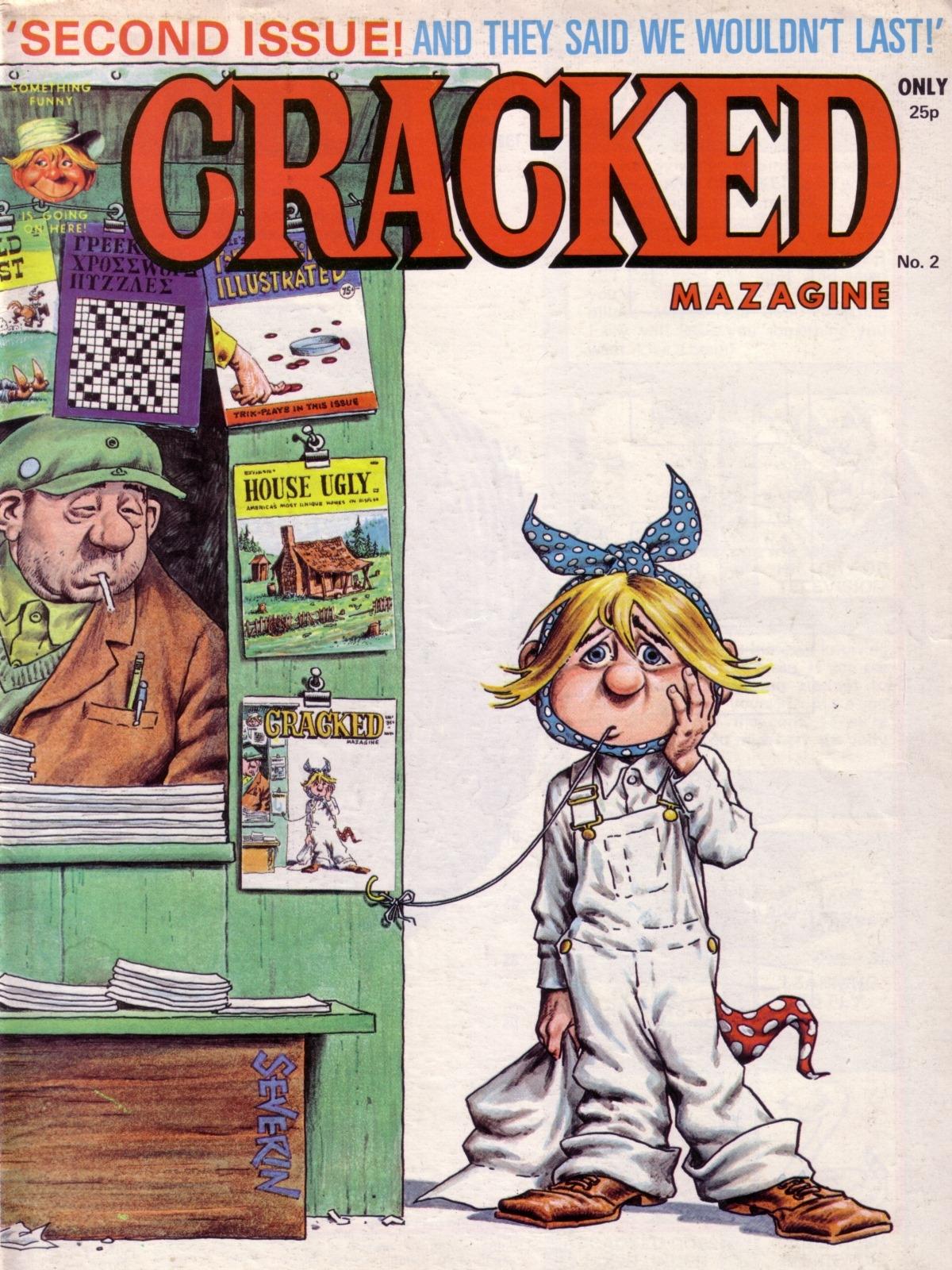 Cracked Magazine #2 • Great Britain