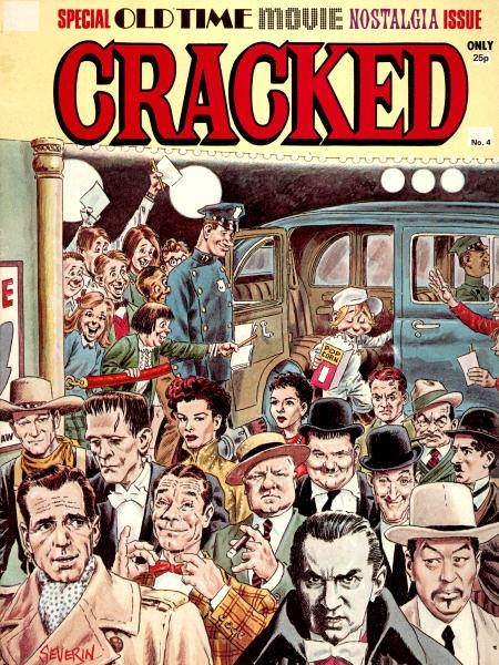 Cracked Magazine #4 • Great Britain