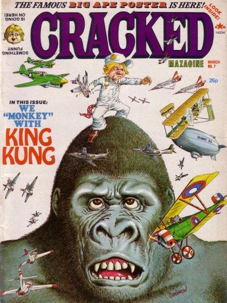 Cracked Magazine #7 • Great Britain