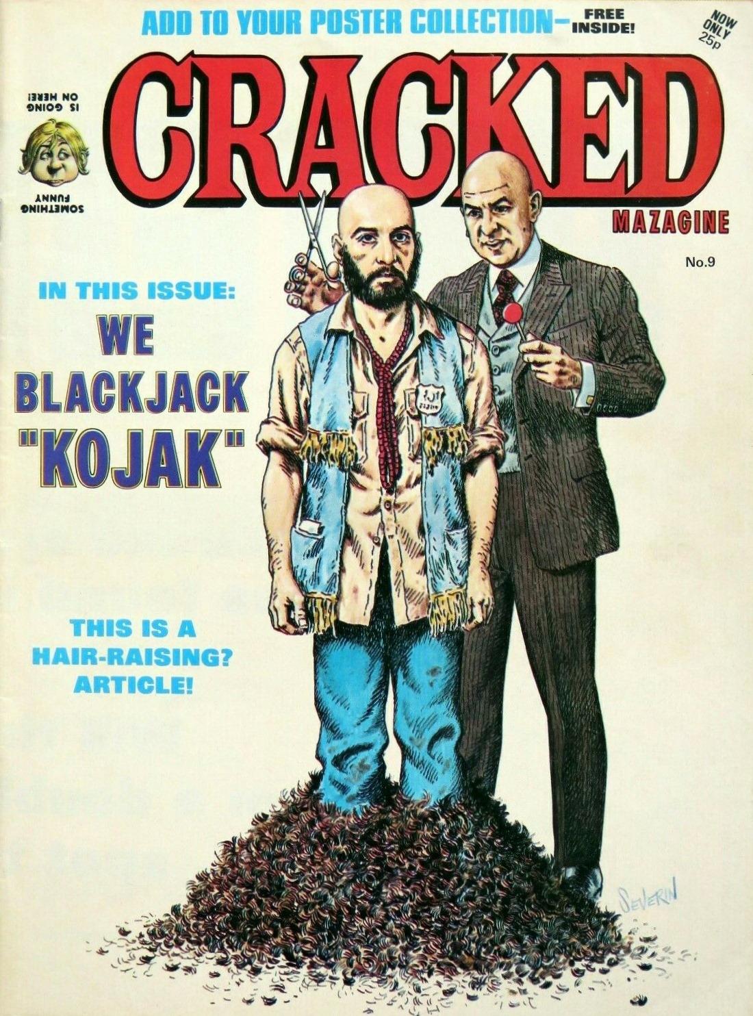 Cracked Magazine #9 • Great Britain