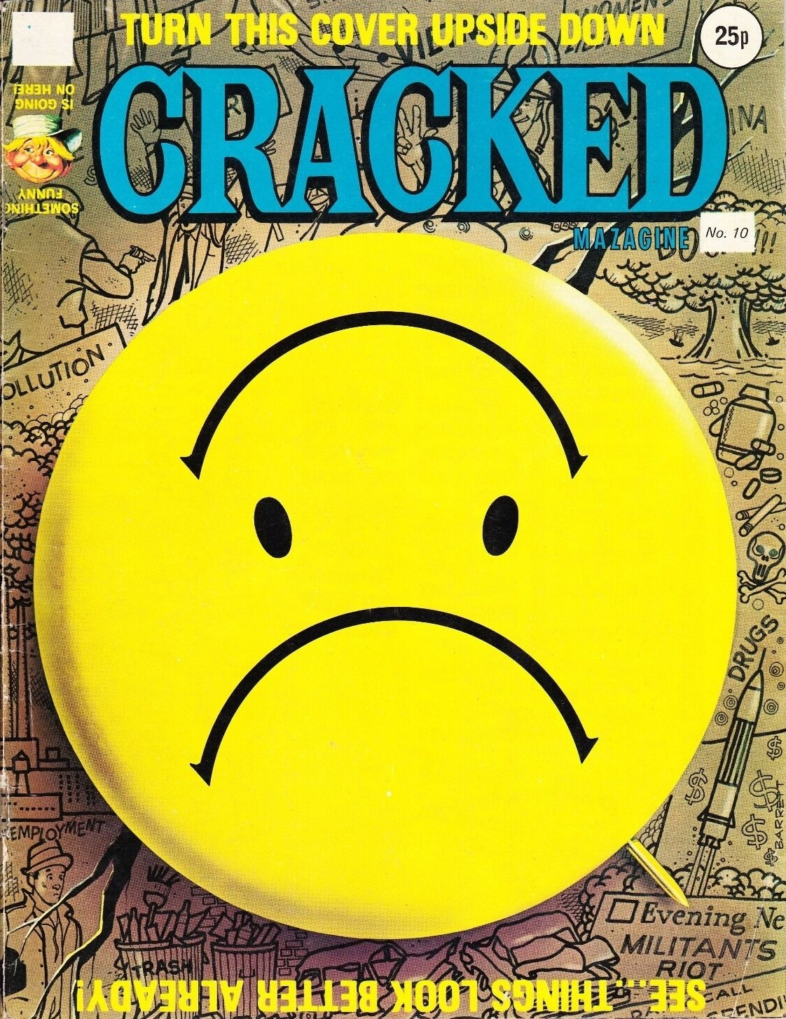 Cracked Magazine #10 • Great Britain