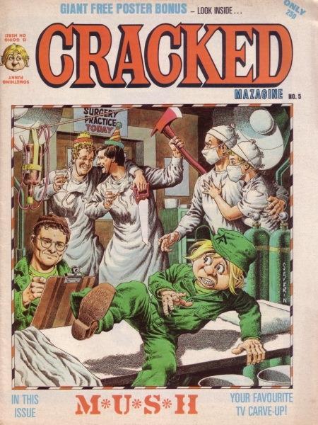 Cracked Magazine #5 • Great Britain