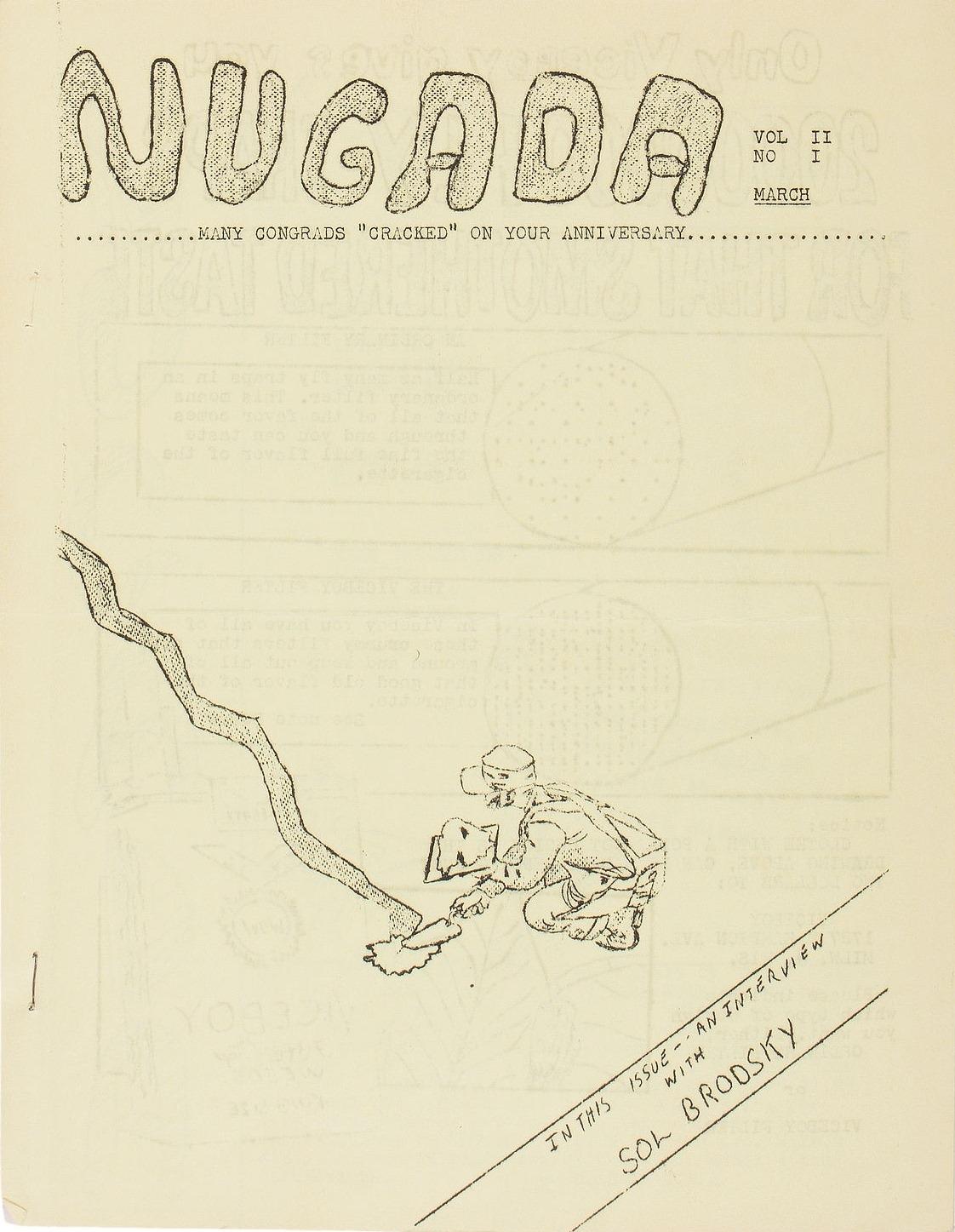Nugada Cracked Fanzine #1 • USA