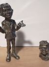 Thumbnail of 2 Pewter Alfred E. Neuman Figures