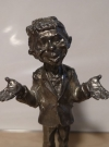 Image of Pewter Alfred E. Neuman Figure