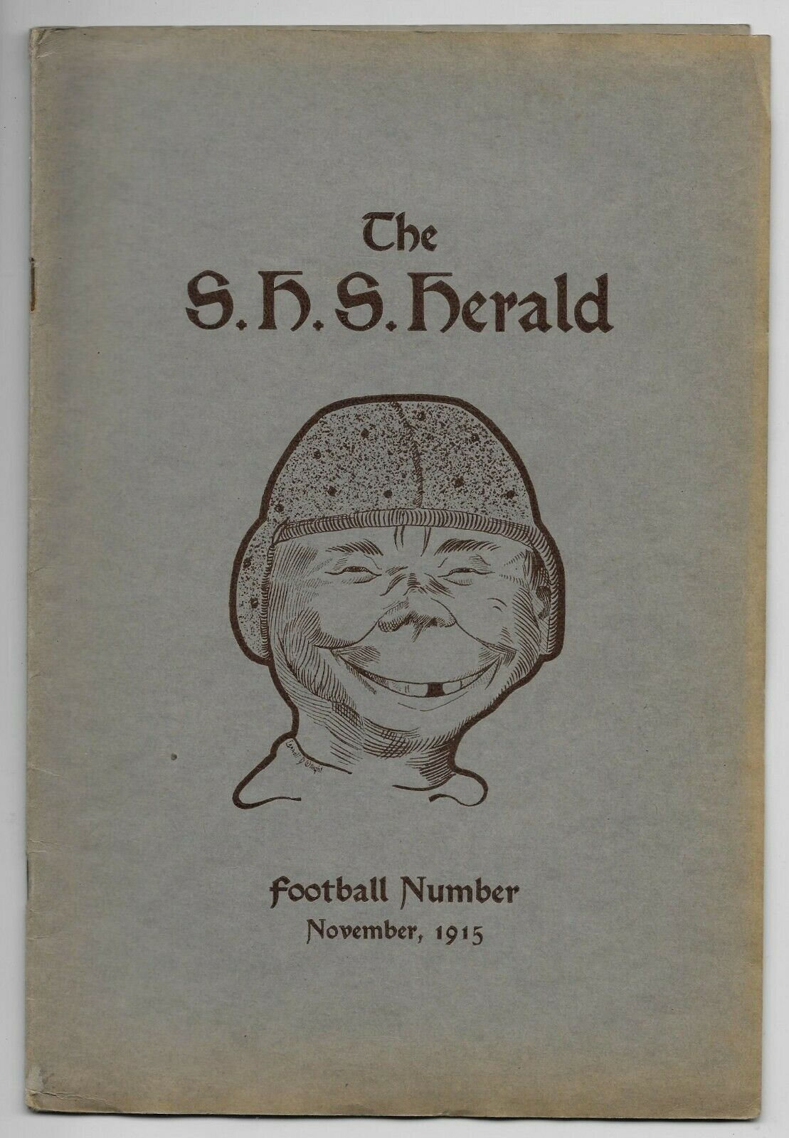 The Springfield Highschool Herald Football Number • USA