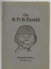 The Springfield Highschool Herald Football Number • USA Original price: 15cents Publication Date: November 1915