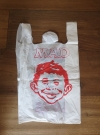 Promotional MAD Magazine Plastic Bag • Brasil