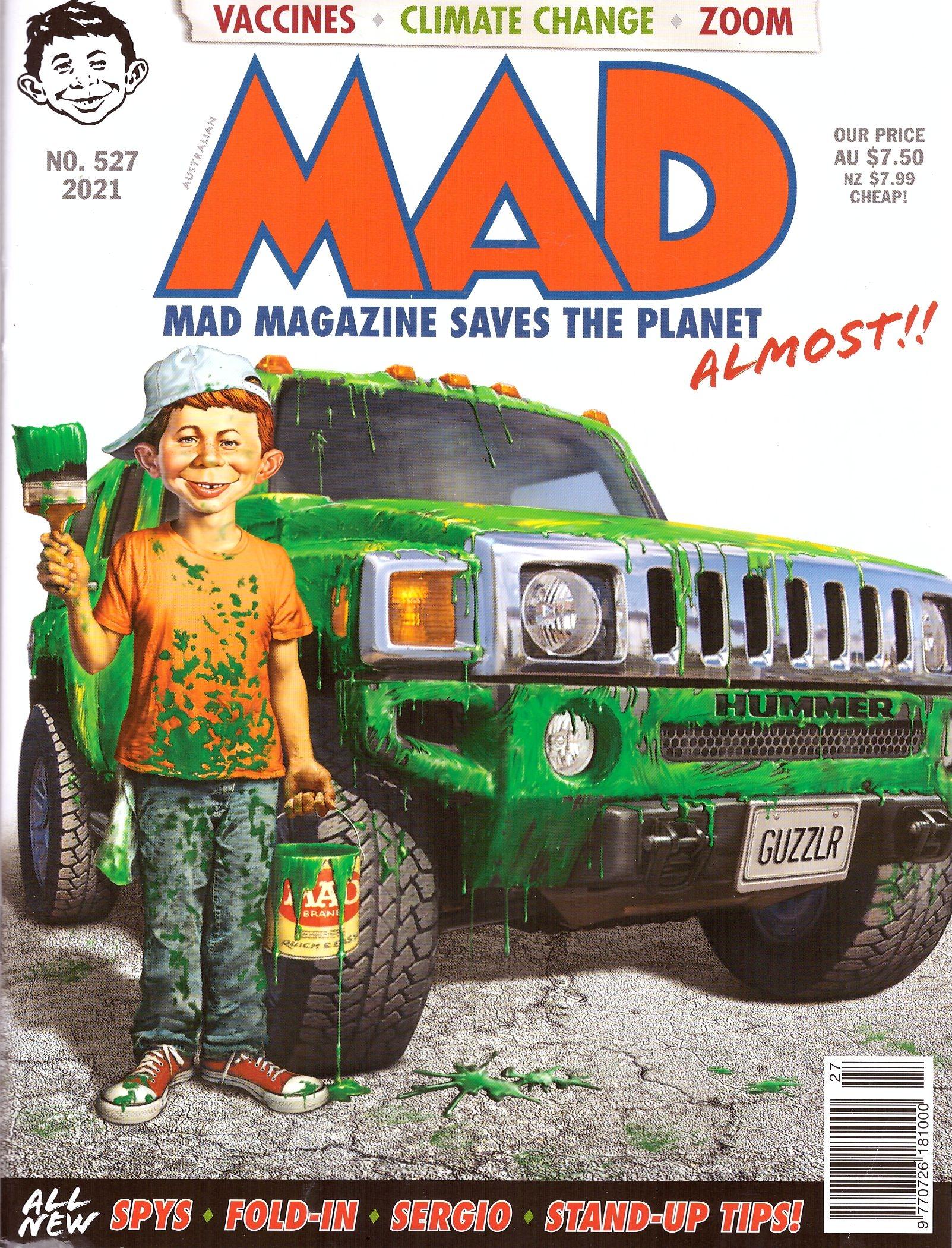 MAD Magazine #527 • Australia