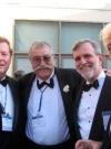 Image of Nick Meglin with Jack Pittman, Sergio Aragonés and Sam Viviano
