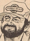"Image of Peter Boyle in ""Outlandish"", by Dick DeBartolo and Angelo Torres, MAD #228."