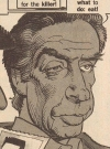 Drawn Picture of Jerry Orbach