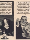 "Image of Bela Lugosi in the MAD spoof ""Mannie Get Your Ghoul"", MAD #85, by Frank Jacobs and Jack Rickard."