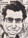 Drawn Picture of Jeff Goldblum
