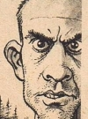 "Image of Christopher Lloyd in ""One Cuckoo Flew over the Rest"", MAD #184, by Dick DeBartolo and Mort Drucker."