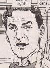 """Image of Kevin Kline in """"Dive"""", MAD #323, Arnie Kogen and Angelo Torres."""