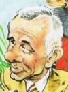 Drawn Picture of Johnny Carson