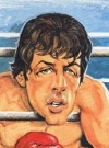 Image of Sylvester Stallone on the cover of German MAD magazine #204