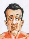 Image of Sylvester Stallone on the cover of German MAD magazine #288