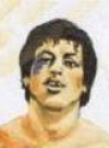 Drawn Picture of Sylvester Stallone