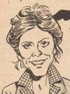 "Image of Kate Jackson in the ""Scarecrow and Mrs. King"" satire from MAD #250, drawn by Angelo Torres."