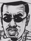 "Drawn Picture of Sean John Combs ""Puff Daddy"""