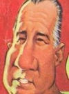 Drawn Picture of Spiro Agnew
