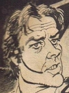 Drawn Picture of Alain Delon