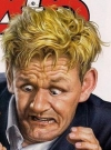Drawn Picture of Gordon Ramsay