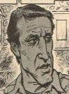 Drawn Picture of Roy Scheider
