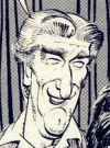 Drawn Picture of Richard Mulligan