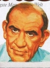 Drawn Picture of Edward Asner