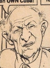 Drawn Picture of Lee Strasberg