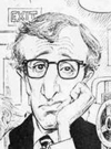 Drawn Picture of Woody Allen