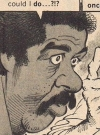 Drawn Picture of Richard Pryor