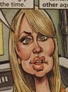 """Image of """"The Big Bang Theory"""" star Kaley Cuoco in the MAD spoof """"The Big Bomb Theory"""" written by Desmond Devlin and illustrated by Tom Richmond for MAD #503"""